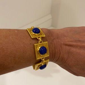 Julie Vos Santorini Lapis Stone Bracelet